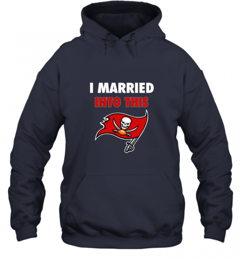lksx i married into this tampa bay buccaneers football nfl hoodie 23 front navy
