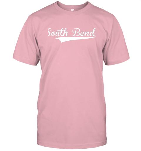 tyoz south bend baseball styled jersey shirt softball jersey t shirt 60 front pink