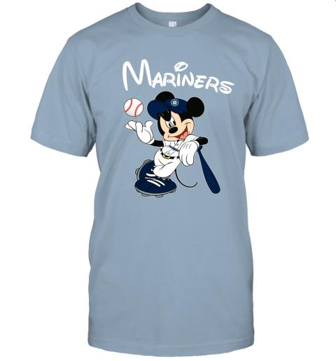 uuv9 baseball mickey team seattle mariners jersey t shirt 60 front light blue