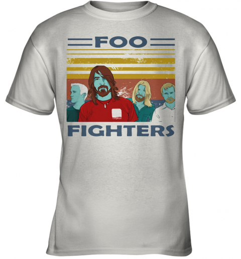 Foo Fighters Vintage Retro Youth T-Shirt