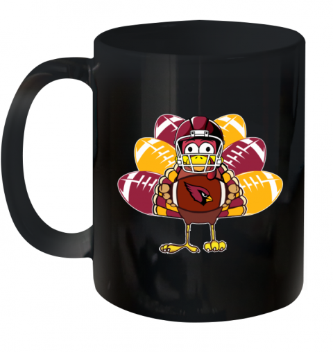 Arizona Cardinals Thanksgiving Turkey Football NFL Ceramic Mug 11oz