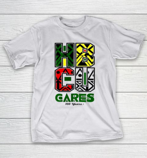 HBCU Cares College University Graduation Gift Black Schools T-Shirt 9