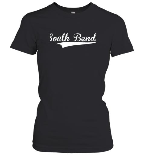 SOUTH BEND Baseball Styled Jersey Shirt Softball Women's T-Shirt