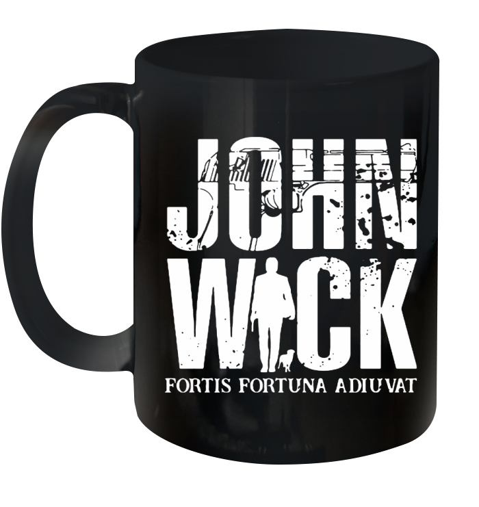 John Wick Fortis Fortuna Adiuvat Ceramic Mug 11oz