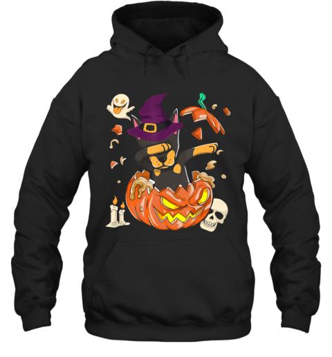Doberman Dog Pumpkin Halloween, Pumpkin Halloween Gift Hoodie
