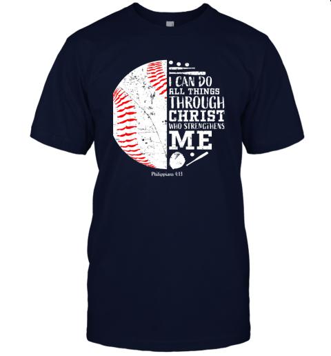 0pzj christian baseball shirts i can do all things through christ jersey t shirt 60 front navy