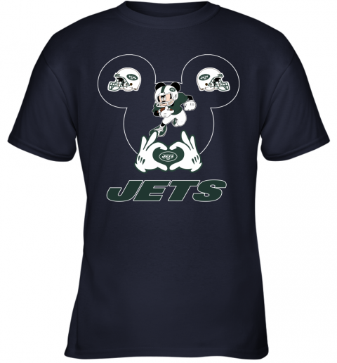 duq2 i love the jets mickey mouse new york jets youth t shirt 26 front navy