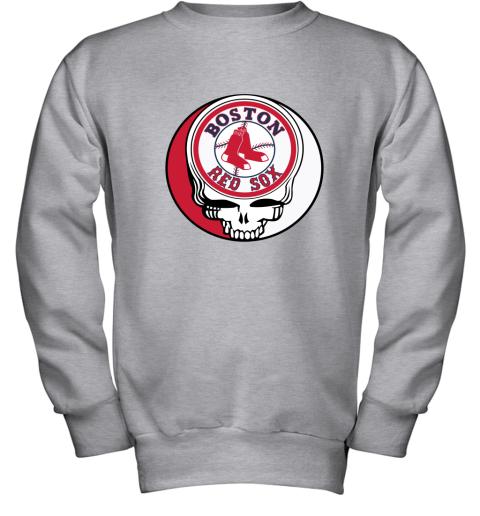 Boston Red Sox The Grateful Dead Baseball MLB Mashup Youth Sweatshirt