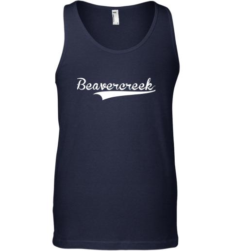o4nk beavercreek baseball styled jersey shirt softball unisex tank 17 front navy