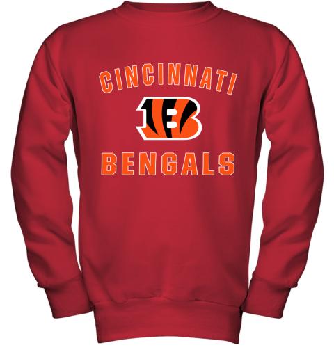 Cincinnati Bengals NFL Pro Line Gray Victory Youth Sweatshirt