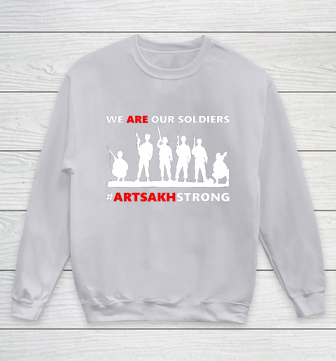 We Are Our Soldiers Youth Sweatshirt 3
