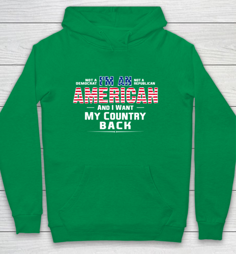 Veteran Shirt Patriot I Am An American Youth Hoodie 4