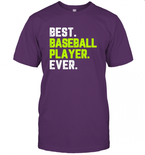 oeix best baseball player ever funny quote gift jersey t shirt 60 front team purple