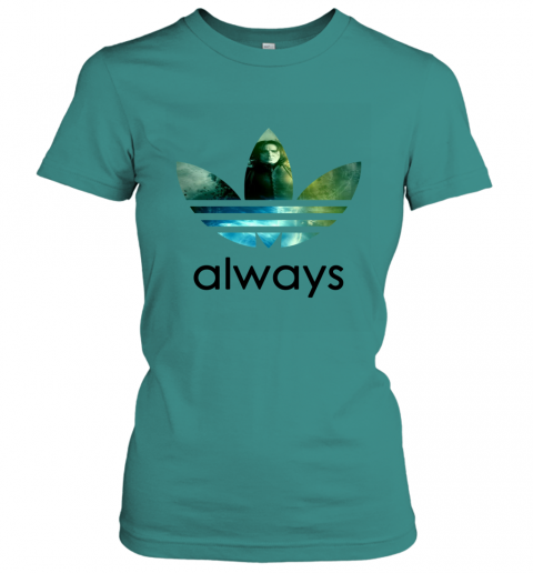 x4vk adidas severus snape always harry potter shirts ladies t shirt 20 front tropical blue