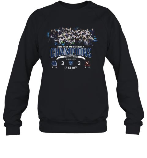 2019 NCAA Men's Soccer Champions Georgetown Hoyas Sweatshirt