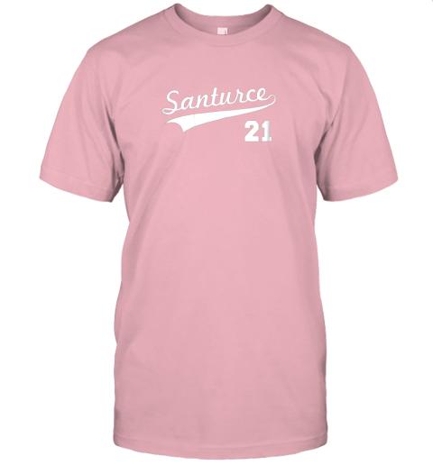 tbft vintage santurce 21 puerto rico baseball jersey t shirt 60 front pink
