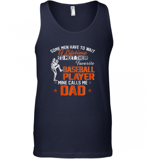 nsmt my favorite baseball player calls me dad funny father39 s day gift unisex tank 17 front navy