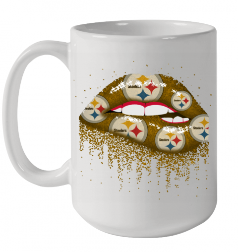 Sexy Lips Pittsburgh Steelers NFL Ceramic Mug 15oz