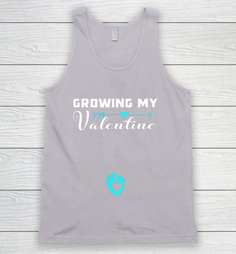 Cute Growing my Valentine Gift for Women pregnancy Tank Top 3