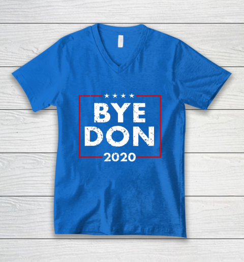 ByeDon 2020 Joe Biden 2020 American Election V-Neck T-Shirt 5
