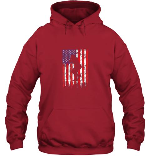 rpro vintage patriotic american flag baseball shirt usa hoodie 23 front red