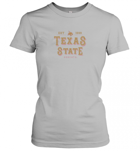 rvtr texas state bobcats womens college ncaa ladies t shirt 20 front sport grey