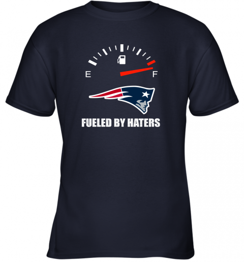 kulz fueled by haters maximum fuel new england patriots youth t shirt 26 front navy