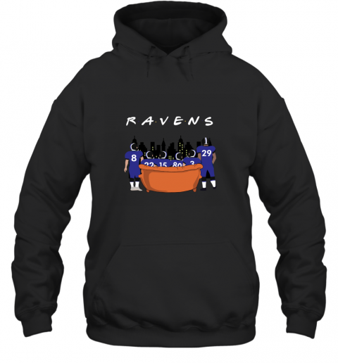 The Baltimore Ravens Together F.R.I.E.N.D.S NFL Hoodie