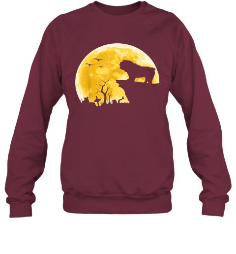 Fun Halloween Costume English Bulldog Dog Moon TShirt Gift Sweatshirt