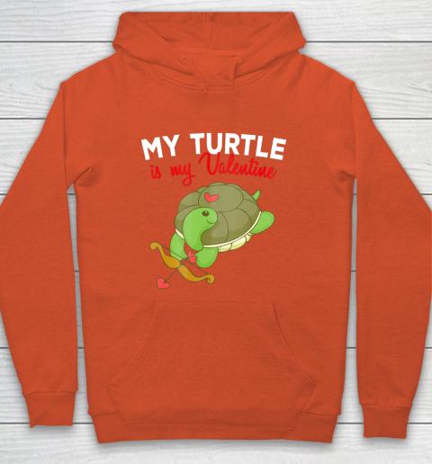 Turtle Valentine T Shirt Sea Turtle Cupid Valentines Day Hoodie 3