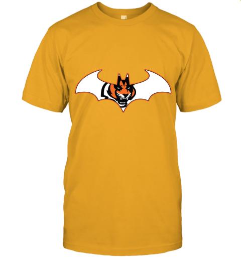 rxz3 we are the cincinnati bengals batman nfl mashup jersey t shirt 60 front gold