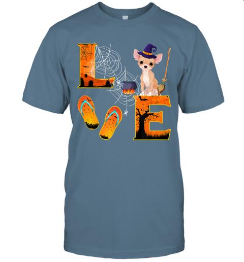 Chihuahua Love Halloween Boo Dog Gifts Chihuahua lover T-Shirt