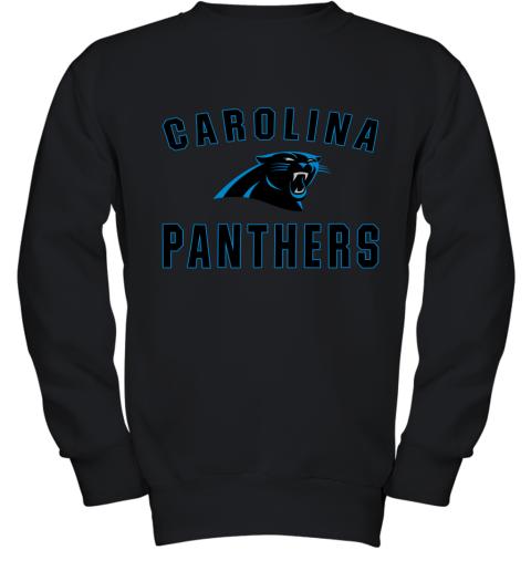 Carolina Panthers NFL Line by Fanatics Branded Gray Victory Youth Sweatshirt