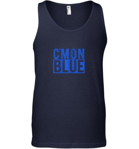 ew71 cmon blue umpire baseball fan graphic lover gift unisex tank 17 front navy