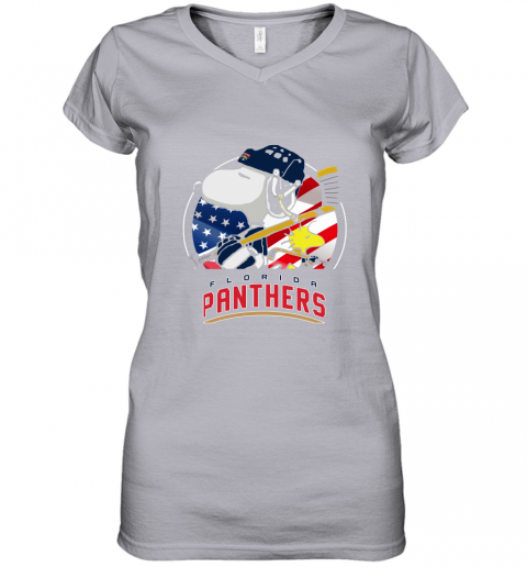 ilxh-florida-panthers-ice-hockey-snoopy-and-woodstock-nhl-women-v-neck-t-shirt-39-front-sport-grey-480px