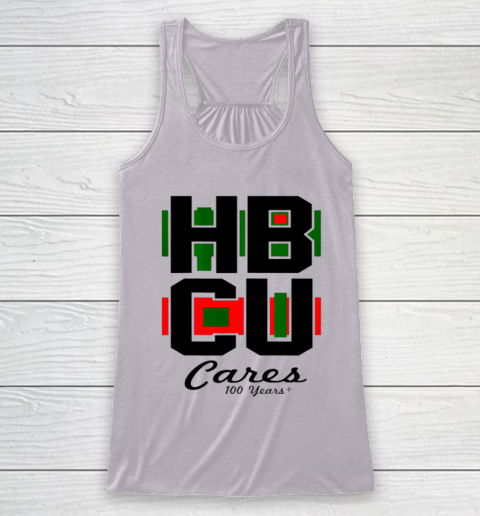 HBCU Cares College University Graduation Gift Black School Racerback Tank 3