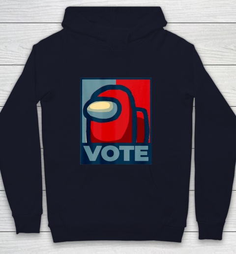 Who is the Impostor neu Among with us start the vote Youth Hoodie 3