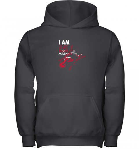I Am The Man In The Iron Mask Baseball Catcher Youth Hoodie