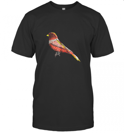 Beautiful Bird Lover Graphic Art TShirt Men Women Kids T-Shirt
