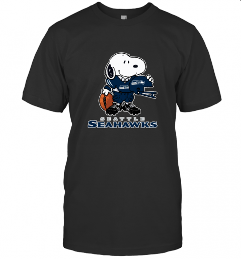 Snoopy A Strong And Proud Seattle Seahawks NFL T-Shirt