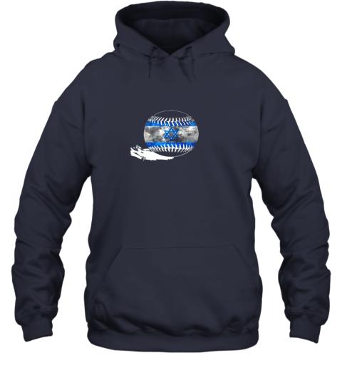 4klk vintage baseball israel flag shirt israelis pride hoodie 23 front navy