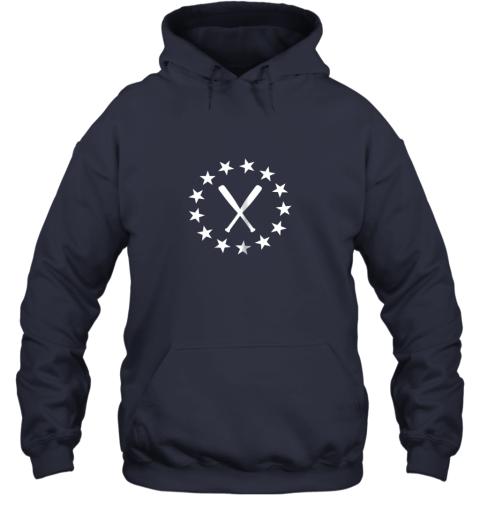 8uq1 baseball with bats shirt baseballin player gear gifts hoodie 23 front navy