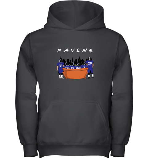 The Baltimore Ravens Together F.R.I.E.N.D.S NFL Youth Hoodie