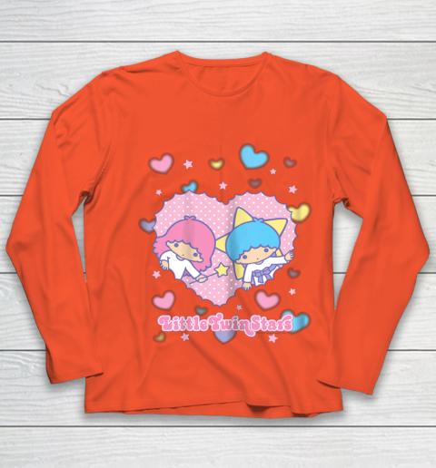 Little Twin Stars Retro Logo Valentine Youth Long Sleeve 3