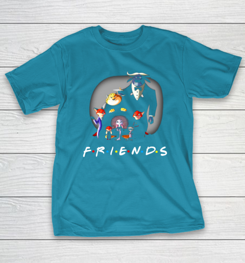 Zootopia characters F.r.i.e.n.d.s T-Shirt 7