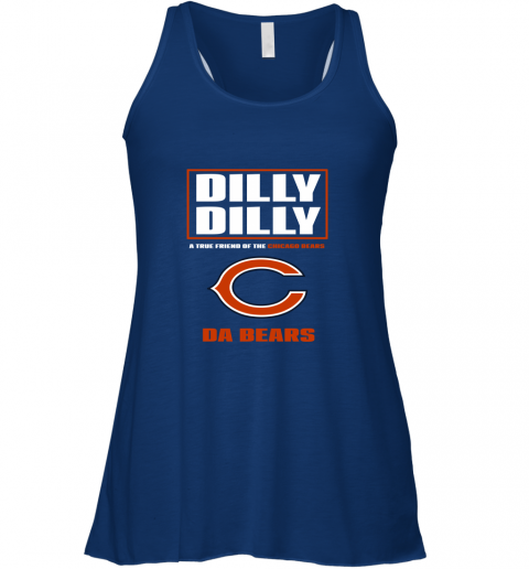 75j7 dilly dilly a true friend of the chicago bears flowy tank 32 front true royal