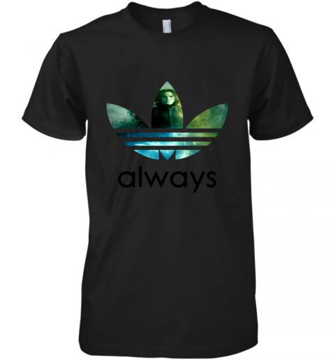 cujs adidas severus snape always harry potter shirts premium guys tee 5 front black