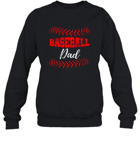 Mens Baseball Inspired Dad Fathers Day Sweatshirt