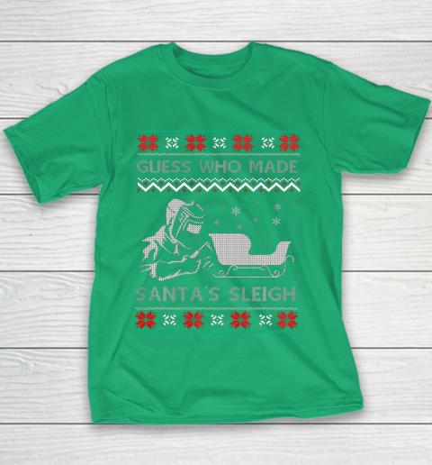 Ugly Christmas Welder Tee Funny Xmas Pajamas Gifts Welders Youth T-Shirt 3