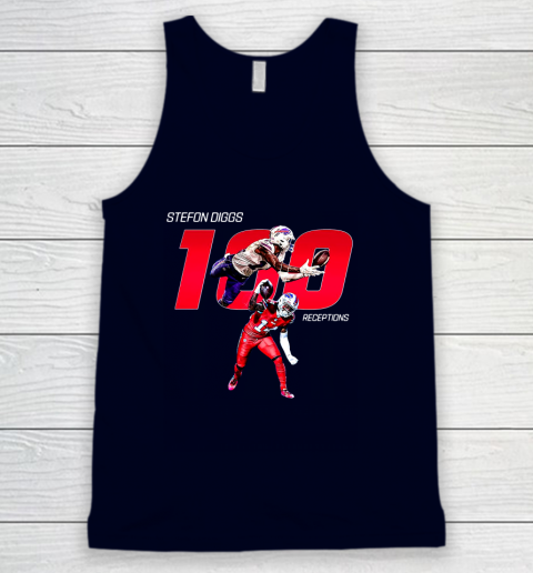 Stefon Diggs 100 Receptions Tank Top 2